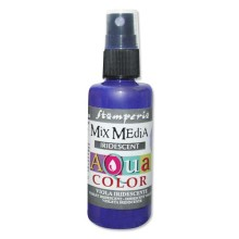 Aquacolor spray 60ml. - Violet  iridescent