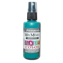 Aquacolor spray 60ml. - Turquoise  iridescent