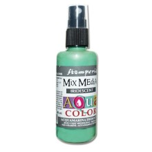 Aquacolor spray 60ml. - Aquamarine  iridescent