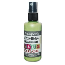 Aquacolor spray 60ml. - Vert clair iridescent